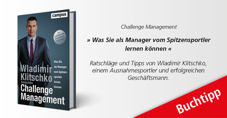 fM Buchtipp: 'Challenge Management'