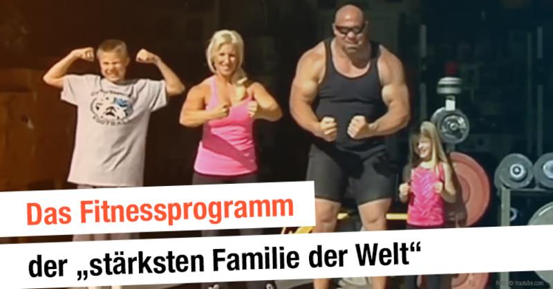 Familie Bests verrücktes Leben besteht aus Workouts ohne Ende