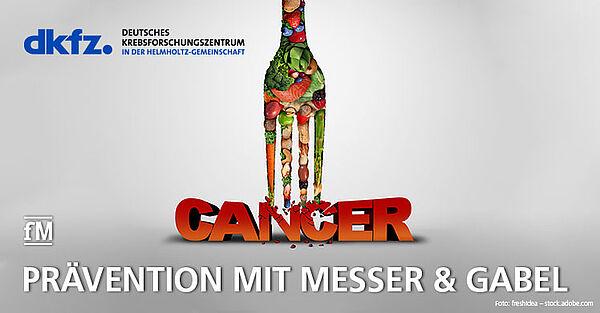 dkzf-Krebspräventionswoche klärt in puncto Ernährung auf