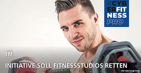 CyberFitness-Initiative soll Fitnessstudios retten