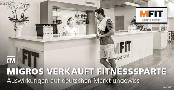 Auswirkungen des geplanten Verkaufs der MFIT Fitnessstudios der Migros Ostschweiz auf den deutschen Markt sind noch ungewiss.