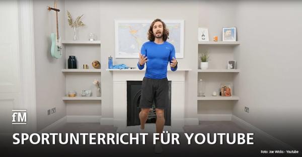 Personal Trainer Joe Wicks begeistert die Welt: Auf Youtube streamt er seinen Sportunterricht für Familien weltweit
