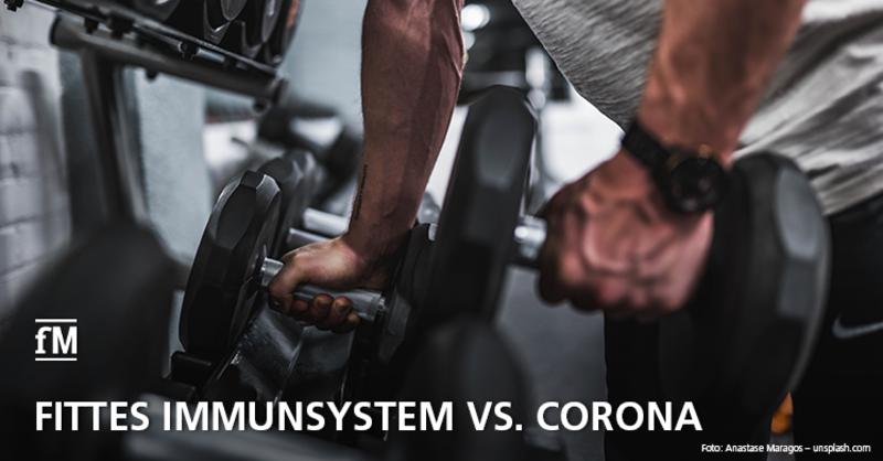 Fittes Immunsystem vs. Corona: Studie soll Relevanz der Fitnessstudios in der Corona-Prävention für Risikopatienten bestätigen