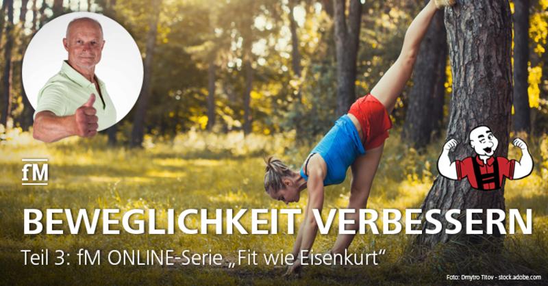 Warm-Up und Trainingsvorbereitung: Teil 3 der fM ONLINE-Serie 'Fit wie Eisenkurt'.