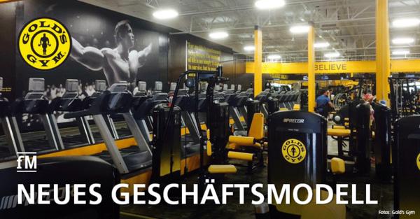 US-Fitness-Franchise Gold's Gym stellt neues Geschäftsmodell vor