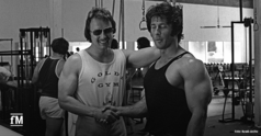Workout mit Frank Zane im Ur-Gold's Gym (1974)