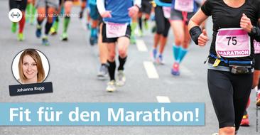 Marathonlauf mit System: eine solide Vorbereitung ist alles.