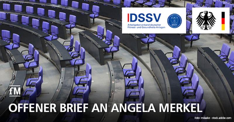 Corona-Krise: Fitnessstudios nach Ostern wiedereröffnen: DSSV schreibt offenen Brief an Bundeskanzlerin Angela Merkel