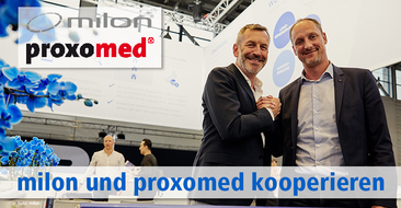 milon und proxomed schließen eine Vertriebspartnerschaft.
