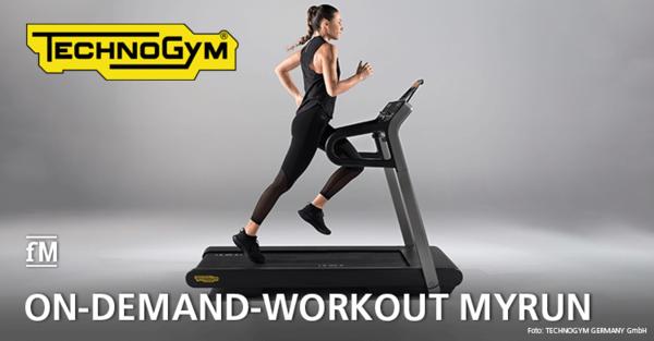 Training auf dem Laufband wie in der Natur: Technogym stellt MYRUN vor.