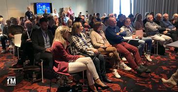 Das Plenum beim DSSV-Event 2019 in Belgrad
