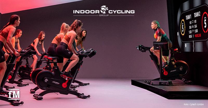 Indoor Cycling Group: Neues digitales System für Indoor Fitnesstraining