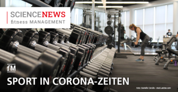 'Science News' – Studie: 'Sport in Zeiten von Corona'
