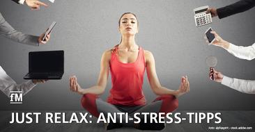 Less Stress. Schalten Sie einen Gang runter