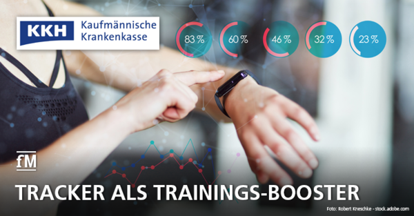 Fitnesstracker als Trainings-Booster