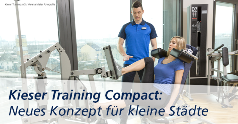 Erstes Studio des neuen Konzepts 'Kieser Training Compact' soll in Heidenheim eröffnen.