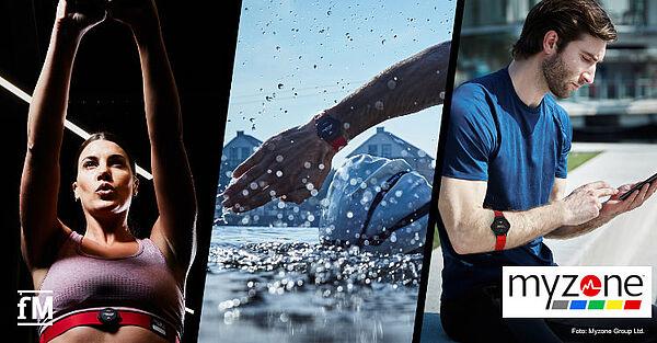 MZ-Switch: Myzone präsentiert Herzfrequenz-Tracker fürs Training im Fitnessstudio, im Wasser oder Outdoor oder im Wasser