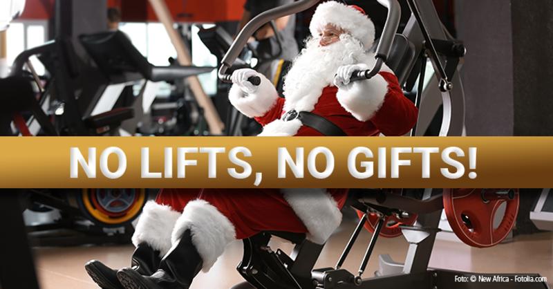No lifts, no gifts! Weihnachten international