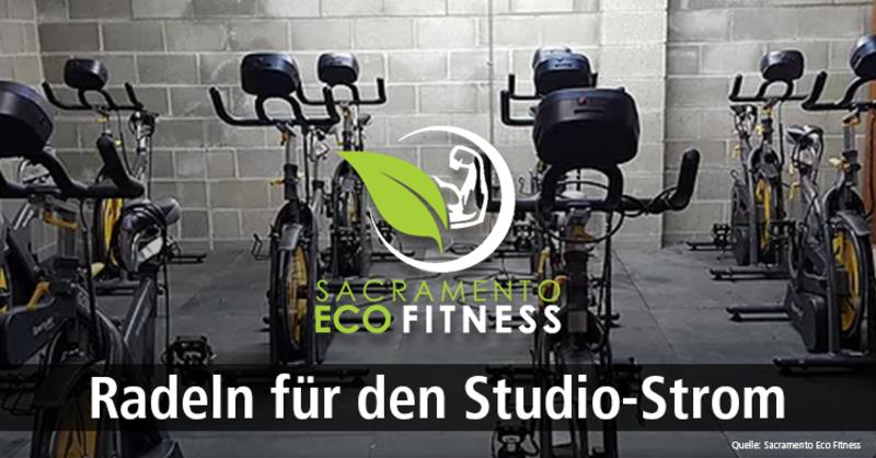 Ökologisches Fitnessstudio in den USA: Mitglieder sorgen selbst für die Stromproduktion.