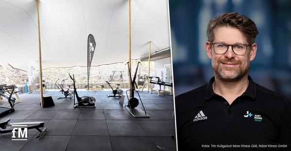 Interview Outdoor Fitness mit Stefan Polzer von J+ Just More fitness