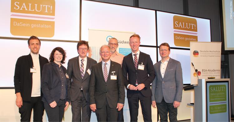 """Experten sorgten für Austausch und Impulse beim bundesweite Gesundheitsforum """"SALUT!"""" in Saarbrücken."""