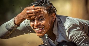 Wasser für Ostafrika: Les Mills und Unicef kooperieren und sammeln beim Training Spenden für Trinkwasserprojekte in Äthiopien.
