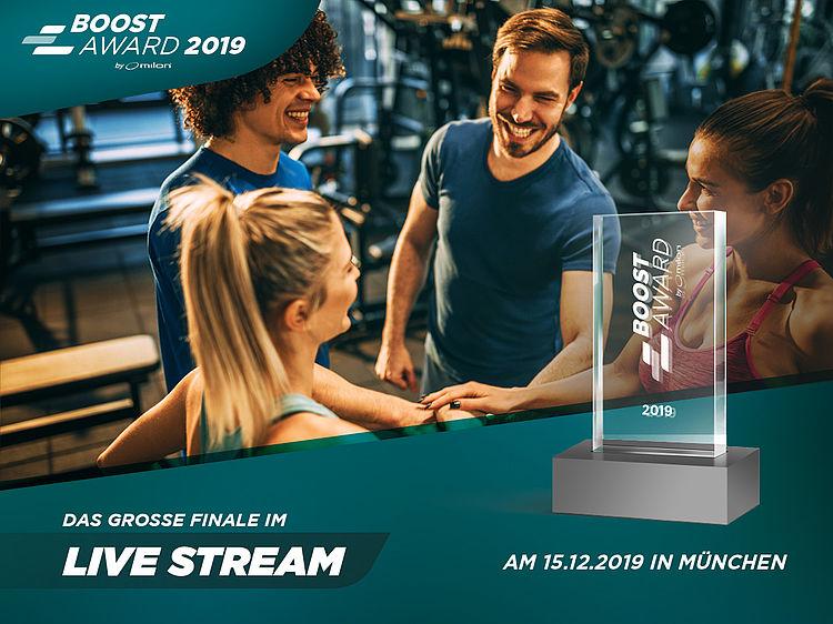 milon BOOST Award: Das große Finale in München im Livestream verfolgen