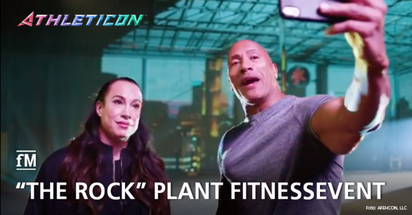Dwayne 'The Rock' Johnson plant Athleticon 2020