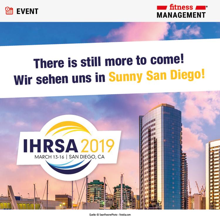 fitness MANAGEMENT auf der IHRSA 2019