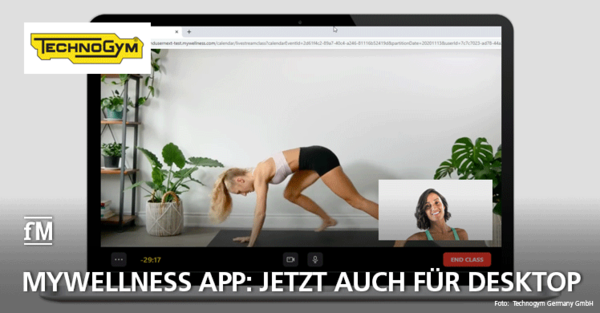 Technogym stellt Mywellness App 5.0 für Desktop vor