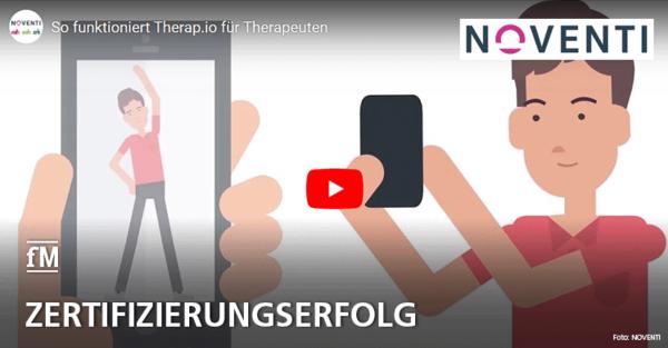 Therap.io App als Medizinprodukt zertifiziert