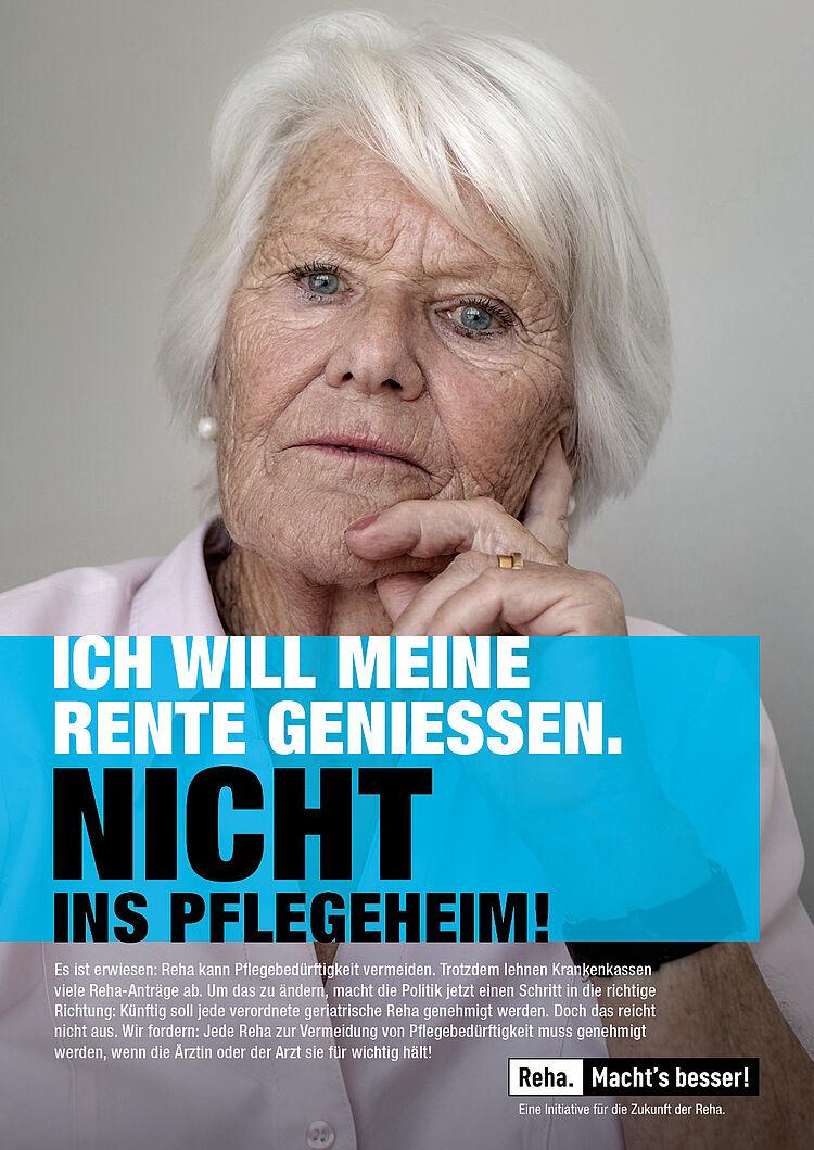 Kampagnenmotiv der Initiative 'Reha. Macht's besser!'