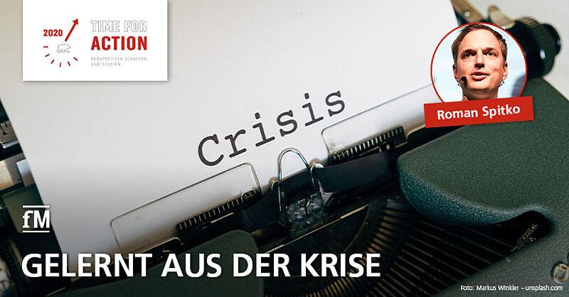 Vortrag 'Lessons learned aus der Corona-Krise' von Roman Spitko (DHfPG/BSA-Akademie)