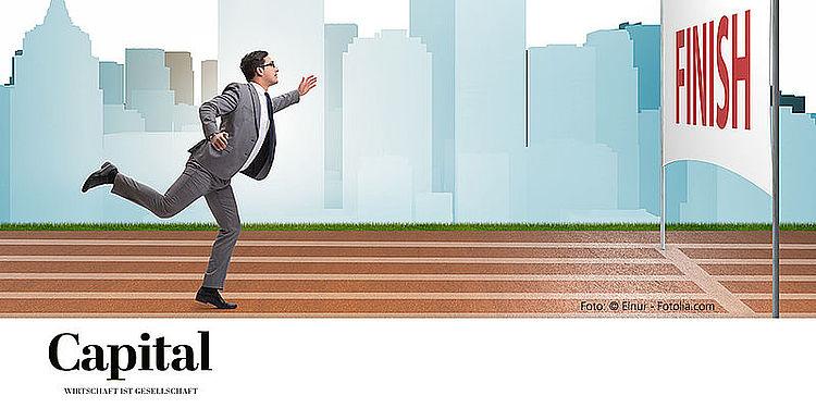 Von Marathonläufern lernen: Acht Tipps des Magazins Capital mit dem Sportpsychologen Alfons Struch für Manager.
