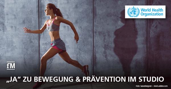 Mehr Bewegung und gezieltes Training: Neue WHO-Guidelines zur köerperlichen Aktivität