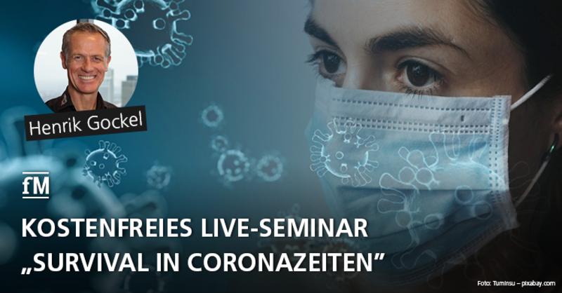 Live-Webinar 'Survival in Coronazeiten' mit PRIME TIME fitness Geschäftsführer Henrik Gockel