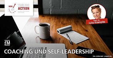 Coaching und Self-Leadership Vortrag auf dem Aufstiegskongress 2020 ONLINE ONLY von Prof. Dr. Julia Krampitz.