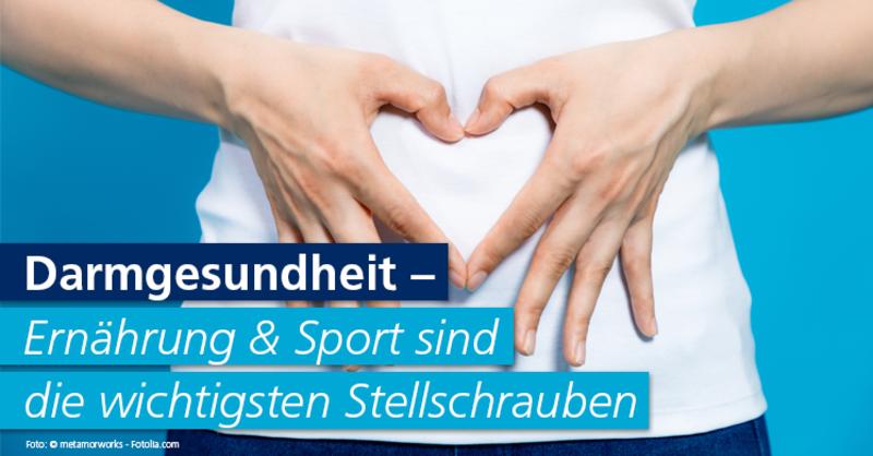 Studien verdeutlichen den Zusammenhang zwischen sportlicher Aktivität & einer gesunden Darmflora.