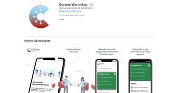 Corona-Warn-App fürs iPhone im AppStore downloaden