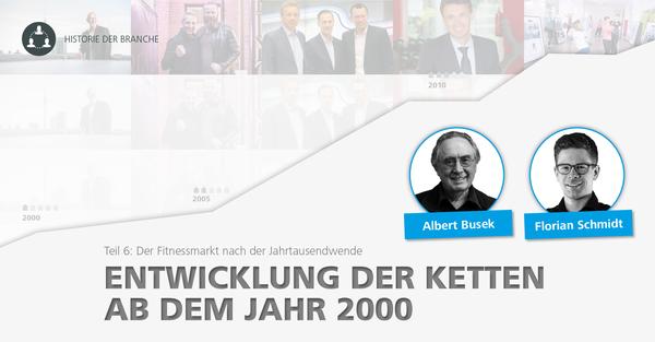 Historie der Fitnessbranche: Die Entwicklung der Fitnessketten ab dem Jahr 2000