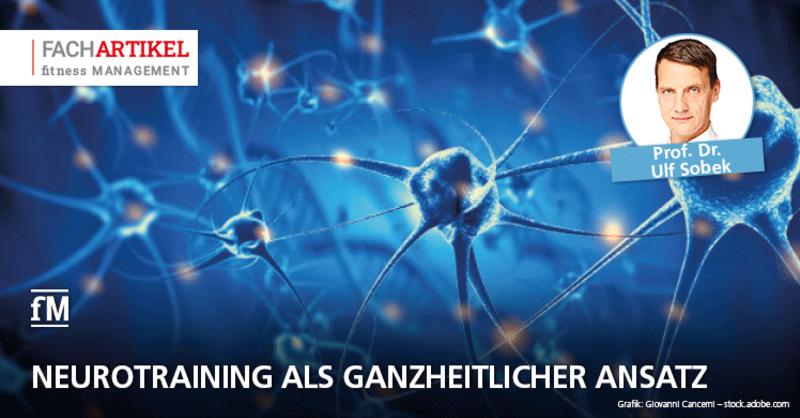 Neurotraining als ganzheitlicher Ansatz: Prof. Dr. Ulf Sobek (DHfPG) erläutert das neue Trainingssystem