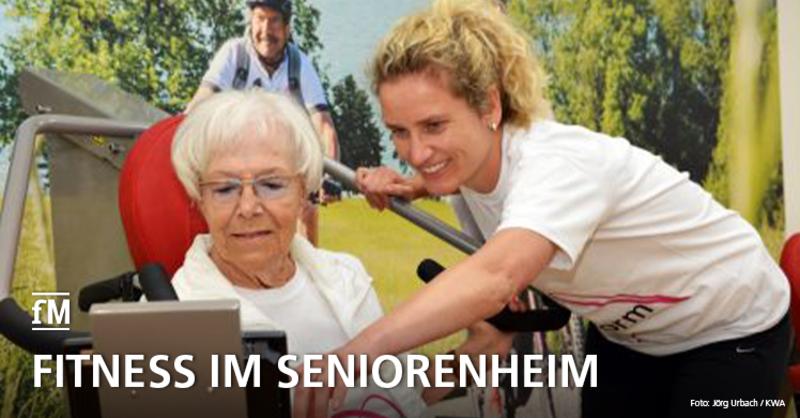 Forschungsprojekt 'Bestform' der TU München setzt direkt in den Seniorenheimen an – die Uni kooperiert dabei mit der Beisheim-Stiftung.
