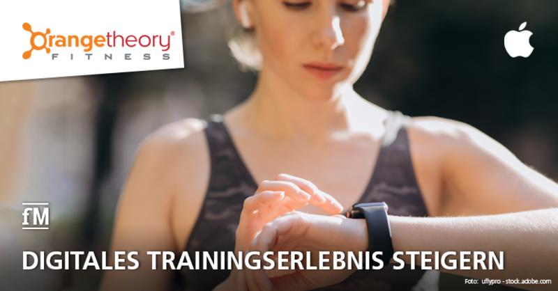 Digitales Trainingserlebnis steigern: Orangetheory Fitness kooperiert mit Apple