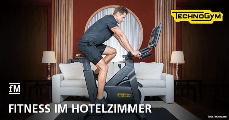 Neue Zimmerkategorie der Kempinski Hotels erlaubt praktische Verbindung von Reisen und Fitness.