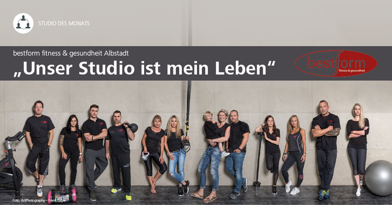 'Unser Studio ist mein Leben' – Michael Maute und sein Team vom Studio 'bestform fitness & gesundheit' in Albstadt leben Fitness und Gesundheit.