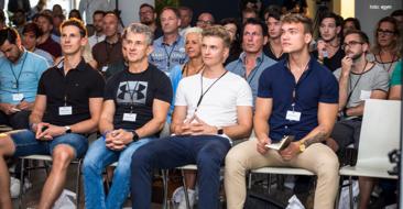 Mehr als 130 Teilnehmer folgten der Einladung zum großen Launch-Event in die Münchner eGym Zentrale.