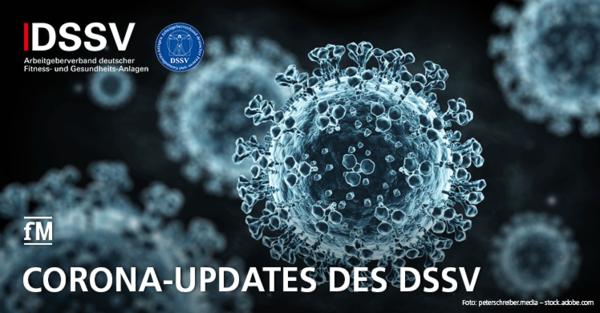 Updates zur aktuellen Corona-Lage und dem erneuten Lockdown der Fitnessstudios des DSSV.