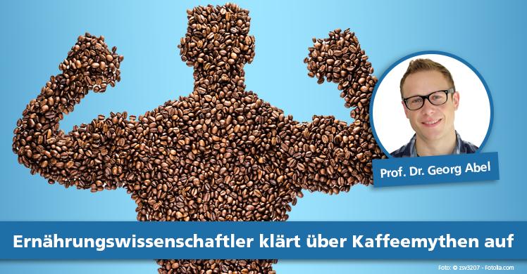 Ernährungswissenschaftler klärt über Kaffeemythen auf.