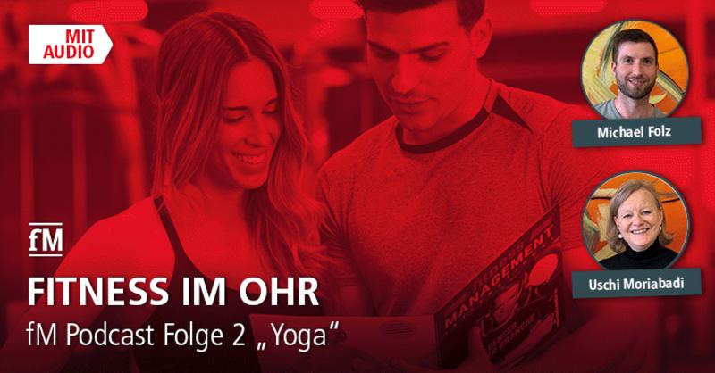 Fitness im Ohr: der fM Podcast bei iTunes, Podigee, Spotify und Deezer