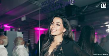 Tänzerin und Moderatorin Fernanda Brandao beim Grand Opening der John & Jane's Soulbase in Berlin.